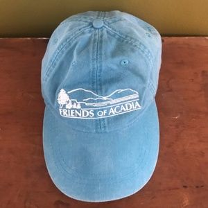 vintage friends of acadia baseball cap